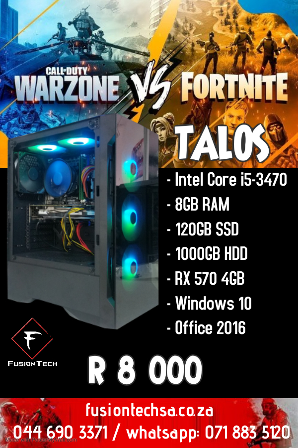 Copy of Talos Intel core i5-3470