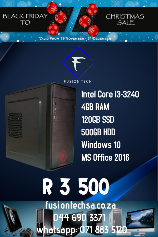 FT Intel Core i3-3240 - Made with PosterMyWall (1)