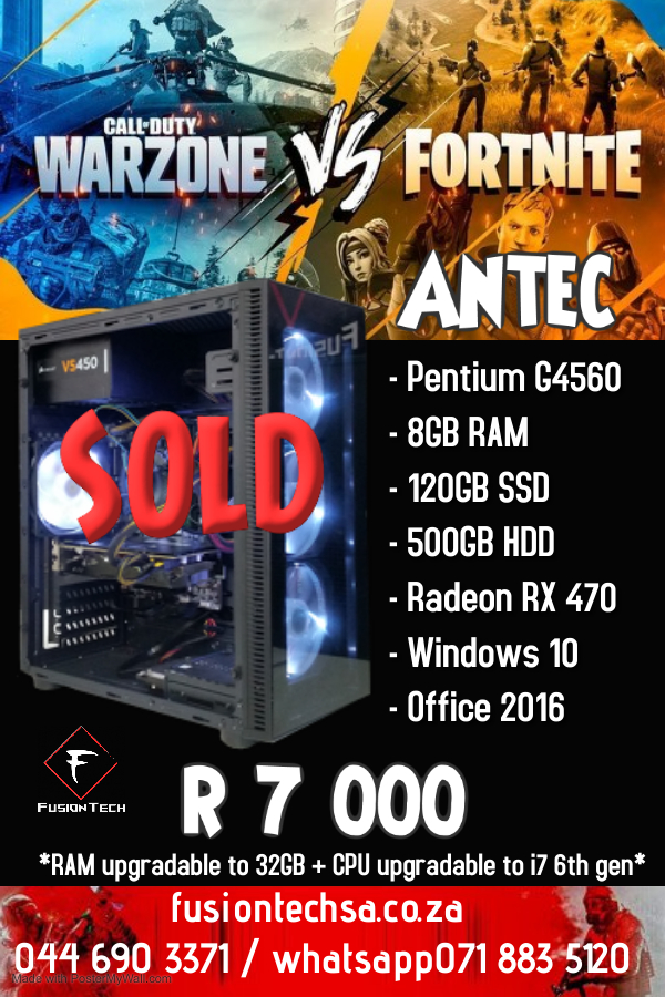 Antec Pentium G4560 - Made with PosterMyWall